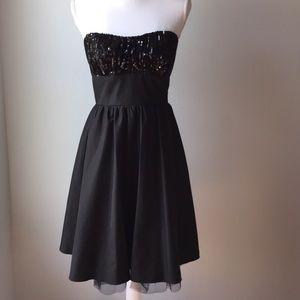 Charlotte Russe Sequin Black Dress